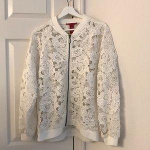 White women's jacket!